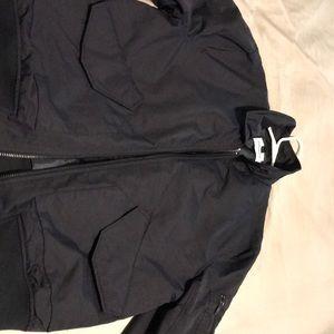 Black Bomber Jacket Topman Men Size L